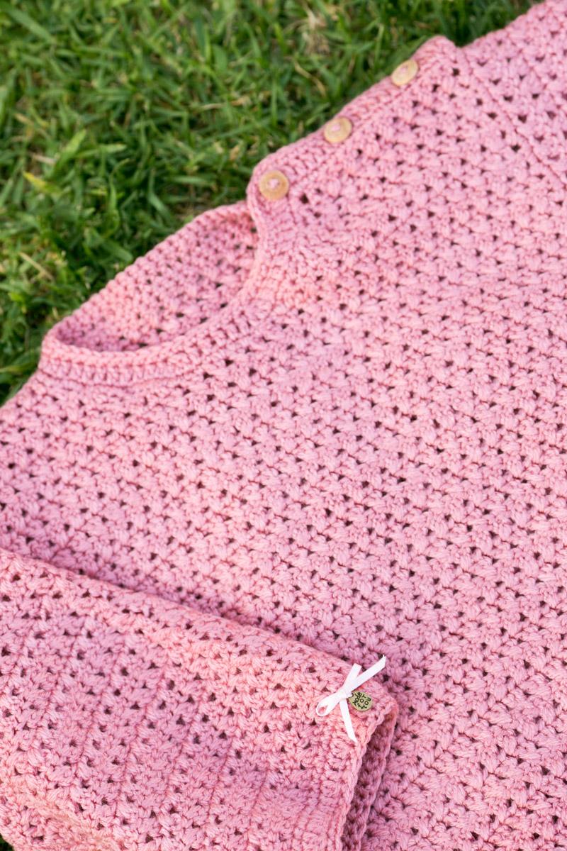 Jersey hecho a mano bebe 12